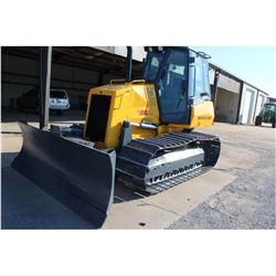 2008 NEW HOLLAND D95 Crawler Tractor SN:N8DC95503 - 6 way blade, ECAB w/ AC, meter reading 1,976 hou