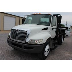 2009 INTERNATIONAL 4300 Winch Truck SN:1HTJTSKM39H056054 --S/A, Int. engine, A/T, flatbed body, rear
