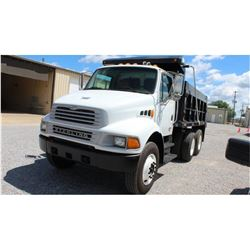 2004 STERLING M8500 Dump Truck SN:2FZHCHCS34AM91960 --T/A, Mercedes engine, A/T, 40K rears, 12K fron