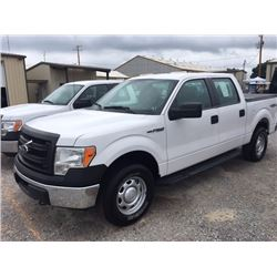 2014 FORD F150 Pickup Truck SN:1FTFW1EF9EKD94492 --4x4, crew cab, V8 gas, A/T, AC, odometer reading