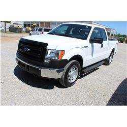 2014 FORD F150 Pickup Truck SN:1FTFX1EF7EKD62458 --4x4, ext. cab, V8 gas, A/T, AC, odometer reading