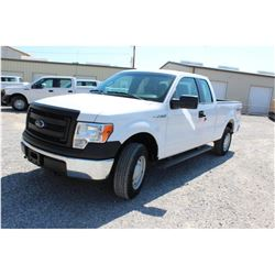 2014 FORD F150 Pickup Truck SN:1FTFX1EF9EKD62459 --4x4, ext. cab, V8 gas, A/T, AC, odometer reading