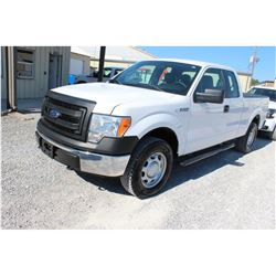 2014 FORD F150 Pickup Truck SN:1FTFX1EF7EKD94505 --4x4, ext. cab, V8 gas, A/T, AC, odometer reading