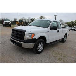 2014 FORD F150 Pickup Truck SN:1FTEX1EM5EFC18572 --4x4, ext. cab, V6 gas, A/T, odometer reading 76,5