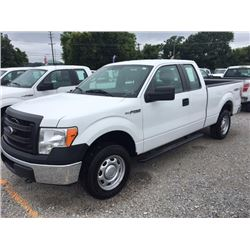 2014 FORD F150 Pickup Truck SN:1FTEX1EM5EFA94903 --4x4, ext. cab, V6 gas, A/T, AC, odometer reading