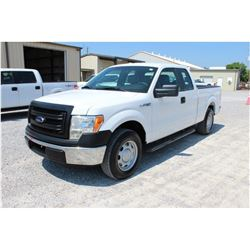 2014 FORD F150 Pickup Truck SN:1FTEX1CM7EFC09634 --ext. cab, V6 gas, A/T, AC, odometer reading 50,29