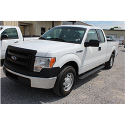 2014 FORD F150 Pickup Truck SN:1FTEX1CM4EFA85306 --ext. cab, V6 gas, A/T, AC, odometer reading 58,72