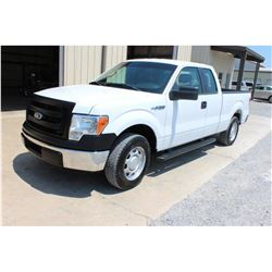 2014 FORD F150 Pickup Truck SN:1FTEX1CM6EFA85307 --ext. cab, V6 gas, A/T, AC, odometer reading 60,89
