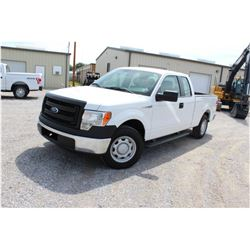 2014 FORD F150 Pickup Truck SN:1FTEX1CM7EFA85350 --ext. cab, V6 gas, A/T, AC, odometer reading 66,61