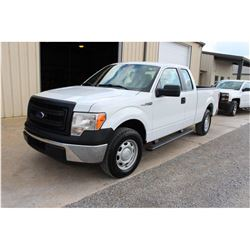 2014 FORD F150 Pickup Truck SN:1FTEX1CM7EFA85333 --ext. cab, V6 gas, A/T, AC, odometer reading 50,09