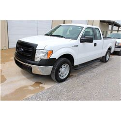 2013 FORD F150 Pickup Truck SN:1FTEX1CM5DFC14121 --ext. cab, V6 gas, A/T, AC, odometer reading 51,84