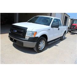 2013 FORD F150 Pickup Truck SN:1FTEX1CM7DFB61406 --ext. cab, V6 gas, A/T, AC, odometer reading 81,64