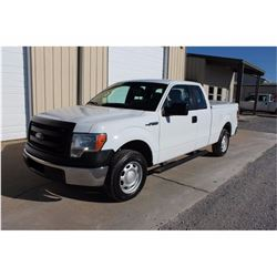 2013 FORD F150 Pickup Truck SN:1FTEX1CM4DKE99711 --ext. cab, V6 gas, A/T, AC, odometer reading 87,16