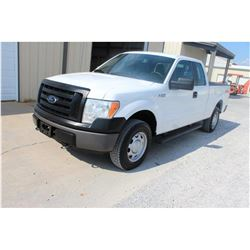 2012 FORD F150 Pickup Truck SN:1FTEX1EM2CFB03635 --4x4, ext. cab, V6 gas, A/T, AC, odometer reading