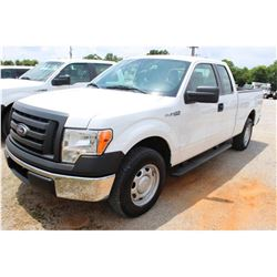 2012 FORD F150 Pickup Truck SN:1FTEX1CM8CFC04004 --ext. cab, V6 gas, A/T, AC, odometer reading 47,15