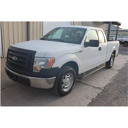 2012 FORD F150 Pickup Truck SN:1FTEX1CM8CFB96499 --ext. cab, V6 gas, A/T, AC, odometer reading 47,25