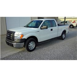 2012 FORD F150 Pickup Truck SN:1FTEX1CM2CFB96501 --ext. cab, V6, A/T, AC, odometer reading 51,133 mi