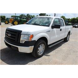 2012 FORD F150 Pickup Truck SN:1FTEX1CM6CFC04020 --ext. cab, V6 gas, A/T, AC, odometer reading 54,45