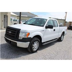 2012 FORD F150 Pickup Truck SN:1FTEX1CM0CFB96495 -- ext. cab, V6 gas, A/T, AC, odometer reading 55,7