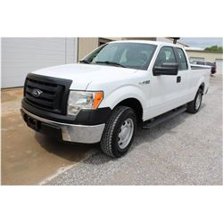 2012 FORD F150 Pickup Truck SN:1FTEX1CM4CFB96502 -- ext. cab, V6 gas, A/T, AC, 56,225 miles
