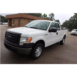 2012 FORD F150 Pickup Truck SN:1FTEX1CM7CFB27092 --ext. cab, V6 gas, A/T, AC, odometer reading 74,76