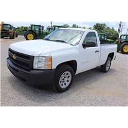 2012 CHEVROLET 1500 Pickup Truck SN:1GCNCPEA1CZ322444 --V8 gas, A/T, AC, odometer reading 54,657 mil