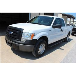 2011 FORD F150 Pickup Truck SN:1FTEX1EM1BFB46863 -- 4x4, ext. cab, V6 gas, A/T, odometer reading 56,
