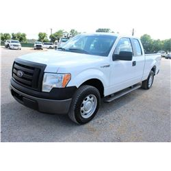 2011 FORD F150 Pickup Truck SN:1FTFX1CF0BFB05407 --ext. cab, V8 gas, A/T, AC, odometer reading 51,18
