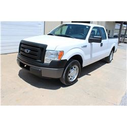 2011 FORD F150 Pickup Truck SN:1FTEX1CM1BFB05393 -- ext cab, V6 gas, A/T, odometer reading 53,481 mi