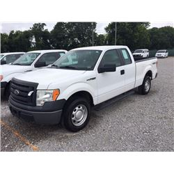 2010 FORD F150 Pickup Truck SN:1FTFX1EV5AKB68285 --4X4, ext. cab, V8 gas, A/T, A/C, odometer reading