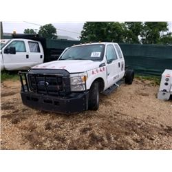 2015 FORD F350 Service Truck SN:1FD8X3E61FEC64784 highway motorist asst. vehicle, ext. cab, V8 gas,