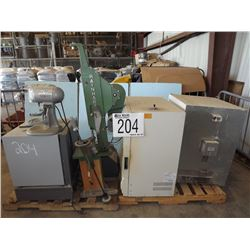 Mixers, Compaction Hammer, Ovens