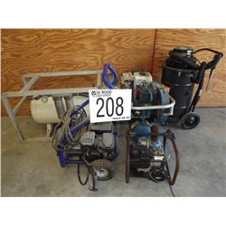 Pump, Pressure Washer, Air Compressor, Vacuum