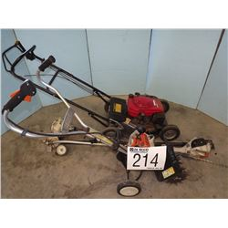 Edger, Tiller, Pole Saw, Lawn Mower