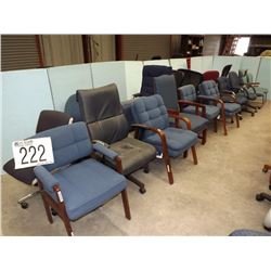 CENTRAL OFFICE MISC. CHAIRS