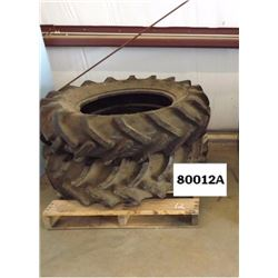 Used Tractor Tires: 2 each - 12.4 x 24