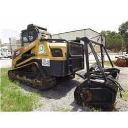 Skid Steer Loader With Forestry Head