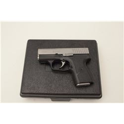 "Kahr Arms Model PM9 DA semi-automatic pistol,  9mm caliber, 3"" barrel, polymer frame, steel  slide,"