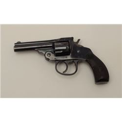 H&R double action .22 rimfire double action  revolver, S/N 28340. 95% plus bright blue  with fine gr