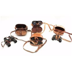 "Lot of 4 items as described: 1. French ""Marine National"" marked 8x30  binoculars in good condition."