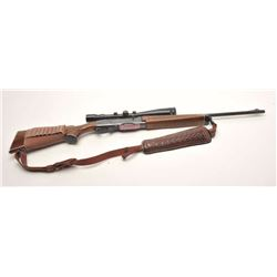 "Remington Woodmaster Model 742 semi-automatic  rifle, .30-06 SPRG. caliber, 22"" barrel,  blued finis"