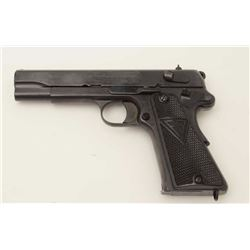 "Radom VIS Model 35 semi-automatic pistol, 9mm  caliber, 4.5"" barrel, nazi proofed, appears  to have"