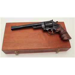 "Smith & Wesson Model 629-2 DA revolver, .44  Magnum caliber, 8.375"" pinned barrel, blued  finish, ta"