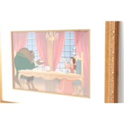 """Original Disney art from 1st production  (#127/500), entitled """"Breakfast for Two"""",  framed and sold"""