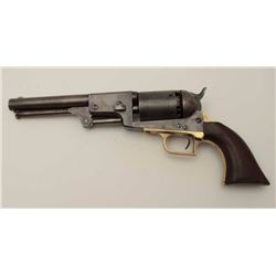 """Rare and desirable Colt 1st Model Dragoon 2nd  U.S. contract or so called """"Fluck""""  variation, S/N 26"""