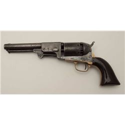 Colt 3rd Model Hartford-London Dragoon S/N  677 showing London address and British  proofs. Remainin