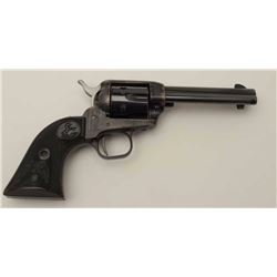 Colt Peacemaker single action revolver, .22LR  caliber with extra .22 Magnum cylinder,  factory box