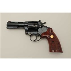 """The Rarest of the Snake Series"" Colt Boa,  357 mag. double action revolver with a 4""  barrel in ori"