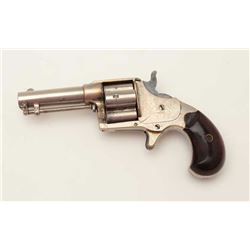 "Colt Cloverleaf Model spur trigger revolver,  .41RF caliber, 3"" barrel, nickel finish, wood  grips,"