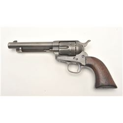 "Colt U.S. Artillery Single Action revolver,  frame S/N 4957 (Custer range), 5.5"" barrel,  wood grips"